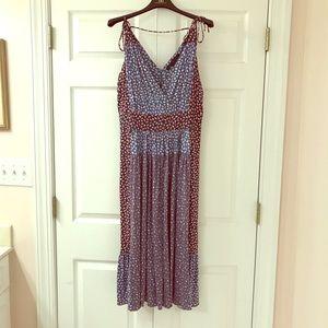 Marc Jacobs knit mixed print dress